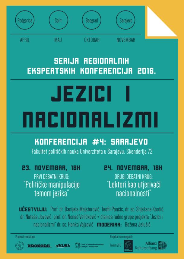 Sarajevo-Plakat